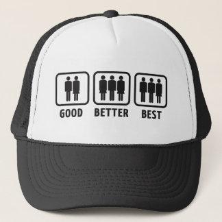 Good Better Best Trucker Hat