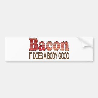 Good Body Bacon Car Bumper Sticker