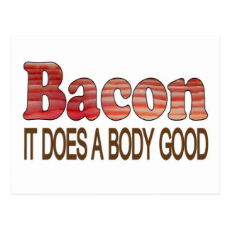 Good Body Bacon Postcard