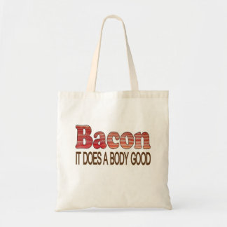 Good Body Bacon Tote Bag