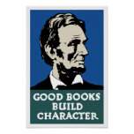 Good Books Build Character -- WPA Poster