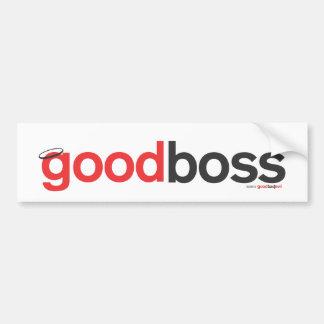 good boss bumper sticker
