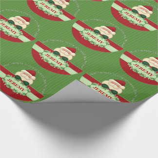 Good Boy Custom Santa Kid's Wrapping Paper