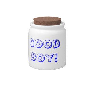 Good Boy Dog Treat Jar Candy Jars