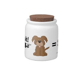 Good Boy-Doggie Treats Candy Jars