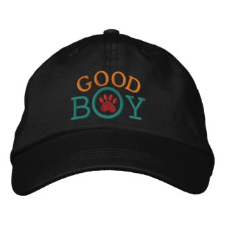 Good Boy ! Embroidered Hats