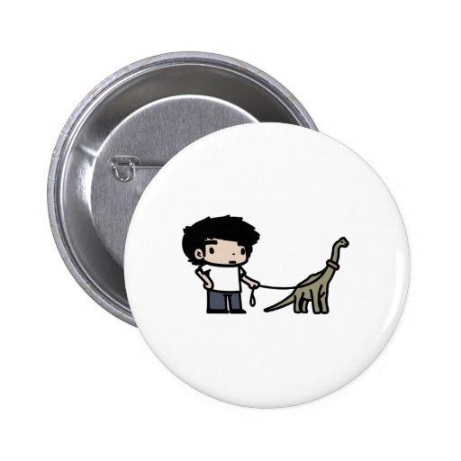 Good Brachiosaurus Button