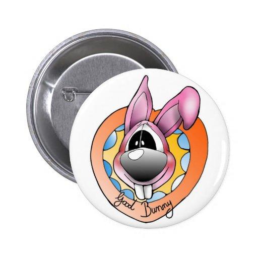 good bunny button anstecker sticker pin