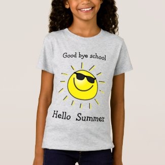 Good bye school, Hello summer - cute sun T-Shirt