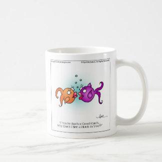 GOOD CATCH Mug by April McCallum