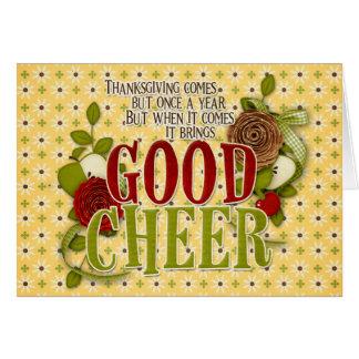 Good Cheer Card