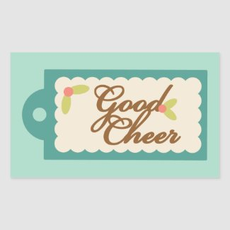 Good Cheer - Christmas Baking Stickers sticker