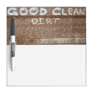 Good Clean Dirt 'Tailgate Talk' Dry-Erase Board