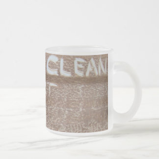 Good Clean Dirt 'Tailgate Talk' Frosted Glass Coffee Mug