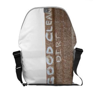 Good Clean Dirt 'Tailgate Talk' Messenger Bag