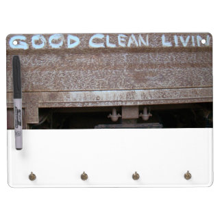 Good Clean Livin' 'Tailgate Talk' Dry Erase Board With Keychain Holder
