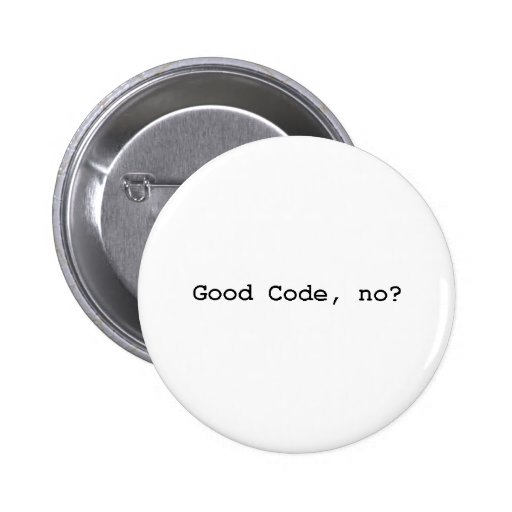 good code no buttons