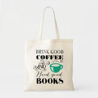 Good Coffee & Books Tote Bag