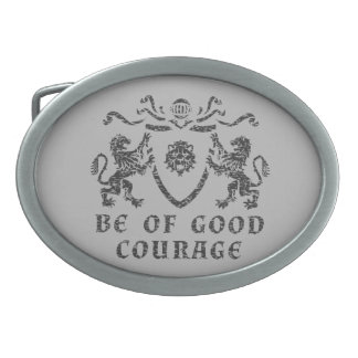 Good Courage Blazon Belt Buckle