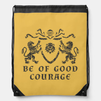 Good Courage Blazon Drawstring Backpack