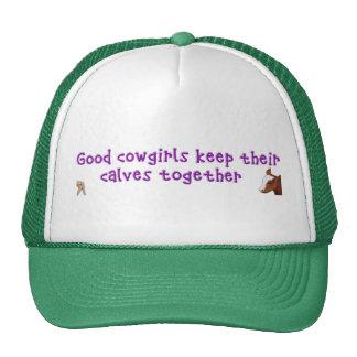 Good Cowgirls Keep their.... Trucker Hat