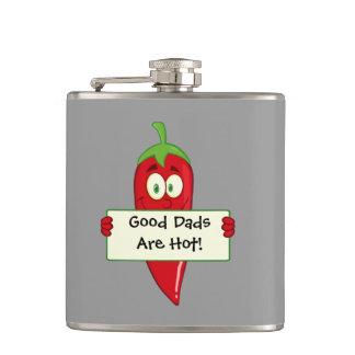 Good Dads Hot (customizable) Hip Flask