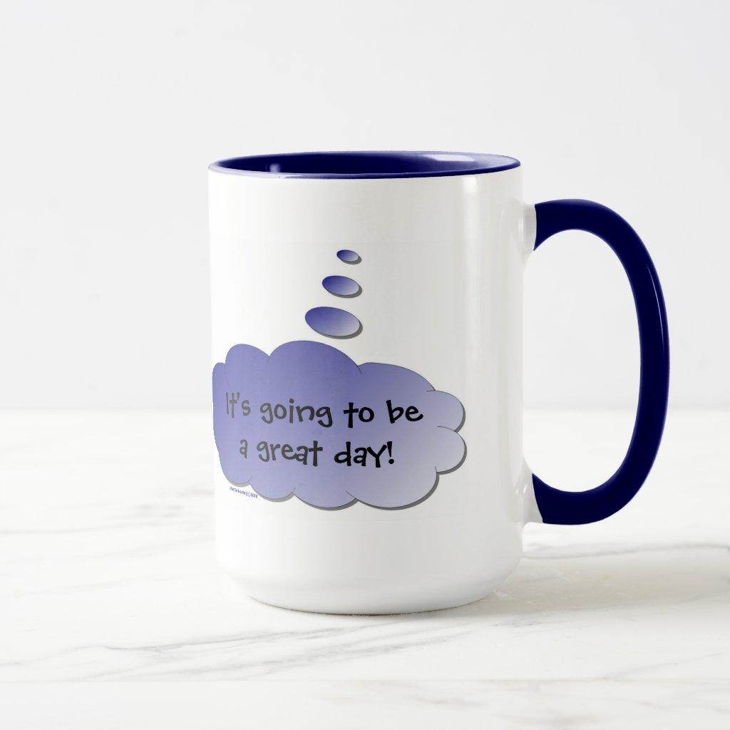 Good Day - Bad Day (Thought Bubble) Mug