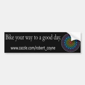Good Day Bikes Bumper Sticker Car Bumper Sticker