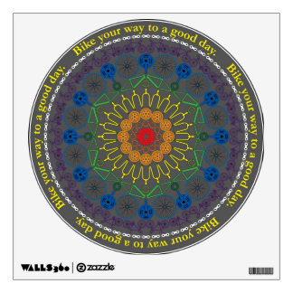 Good Day Bikes Mandala Decal Wall Graphic