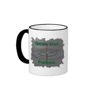 Good Day Fishing Ringer Mug