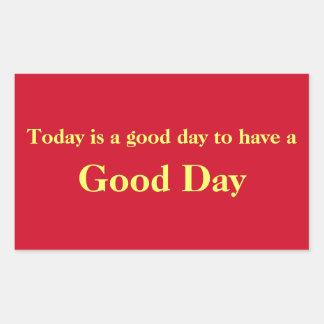 Good Day Red Sticker
