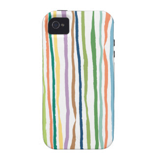 Good Day Stripes iPhone 4 Cases