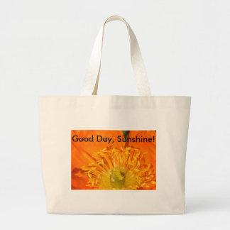 Good Day, Sunshine! Large Tote Bag