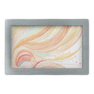 Good Day Sunshine Rectangular Belt Buckle