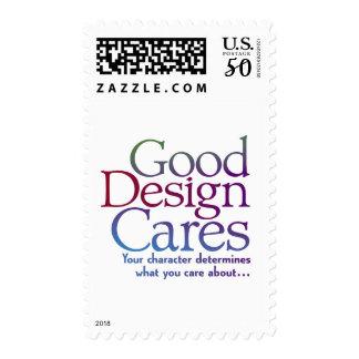 Good Design Cares Postage