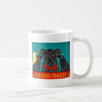 Good Dog Bad Dog Mug-Stephen Huneck Coffee Mug