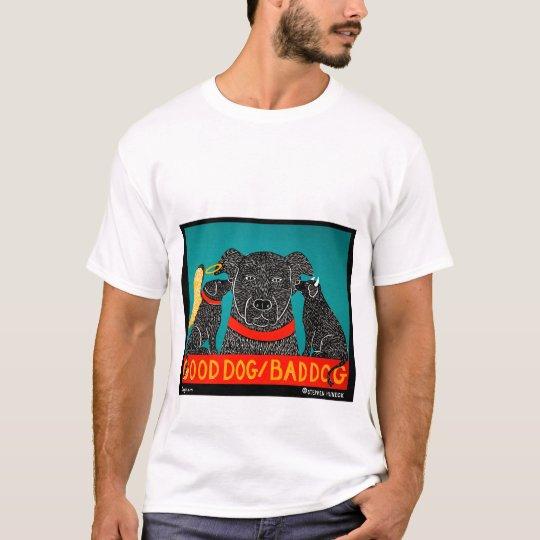 Buon Cane / Cane Cattivo T-shirt Sf7BYTO