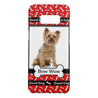 Good Dog Bow Wow Dog's Photo Template Case-Mate Samsung Galaxy S8 Case