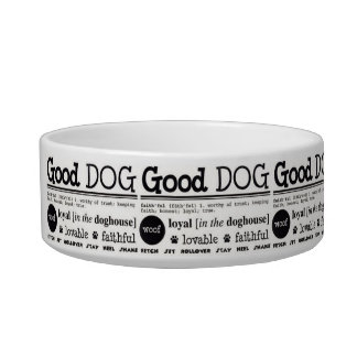 good dog bowls