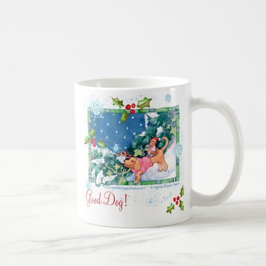 Good Dog! Christmas Treats Mug