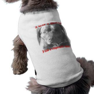 good dog-good owner pet tshirt