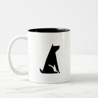 'Good Dog' Pictogram Mug