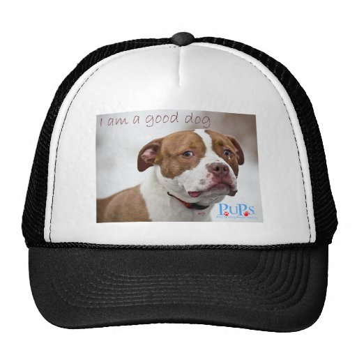 Good Dog Pit Bull Rescue Trucker Hat