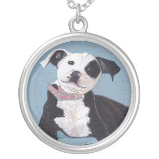 Good Dog Round Pendant Necklace