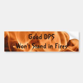 Good DPS bumper sticker