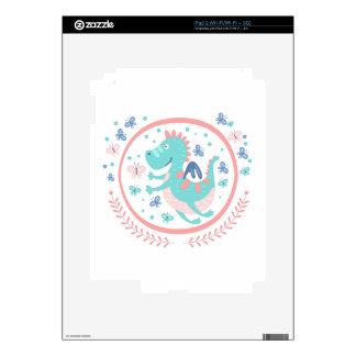 Good Dragon Fairy Tale Character Decal For The iPad 2