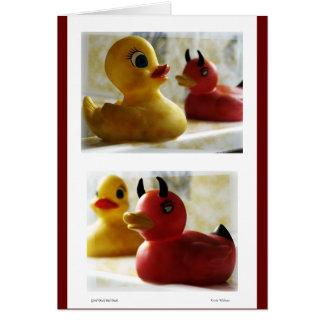 Good Duck Bad Duck Card