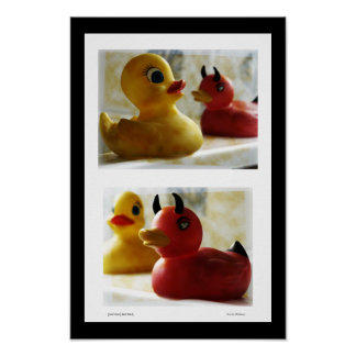 Good Duck Bad Duck Poster