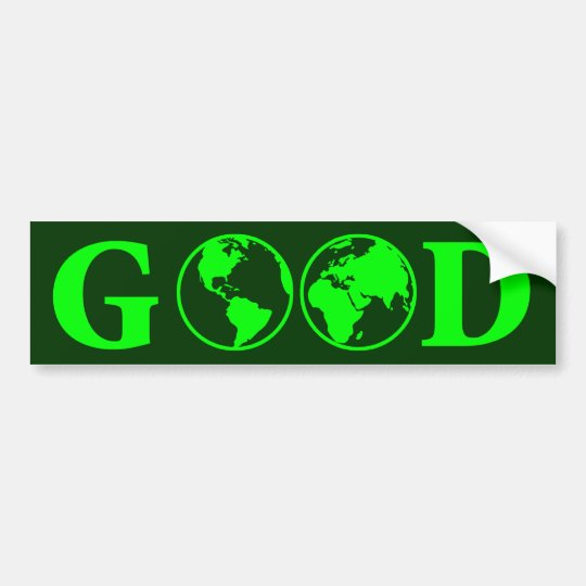 Good Earth Bumper Sticker