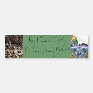 """Good Earth Chefs Bumper Sticker """"Chefs do it"""""""